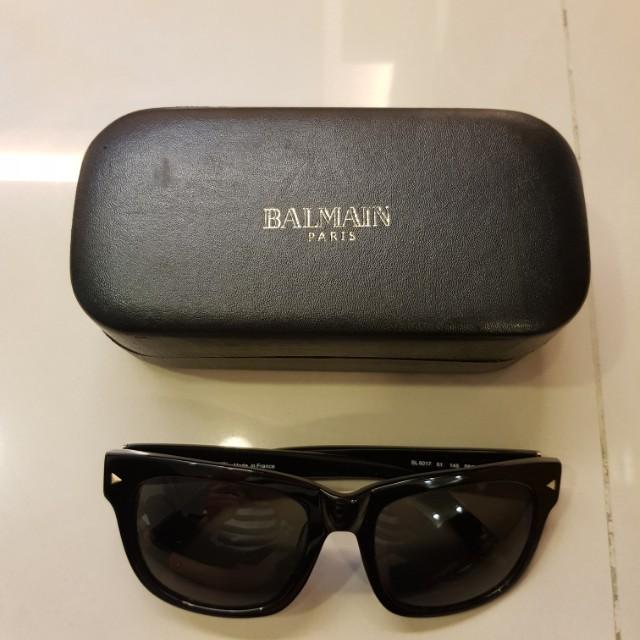 日本kindal購入 balmain墨鏡 明星款  只戴過一次 近全新原價10800 回饋價售3800 買到賺到 #princeh社團同步