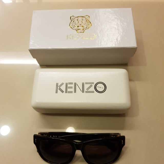 日本kindal購入 kenzo墨鏡 明星款  只戴過一次 近全新 售3900 買到賺到