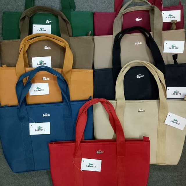 LACOSTE BAG OPEN FOR RESELLER
