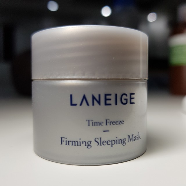 LANEIGE Time Freeze - Firm Sleeping Mask