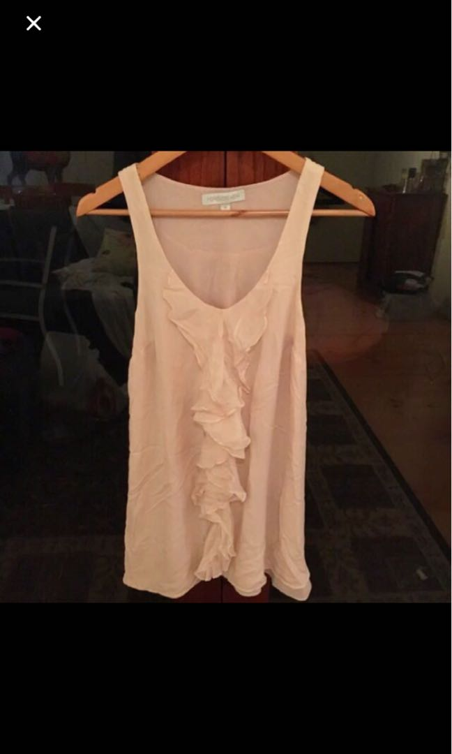 Light pink forever new dress size 10