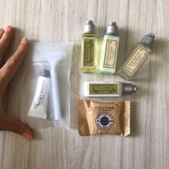 L'Occitane Verveine travel set