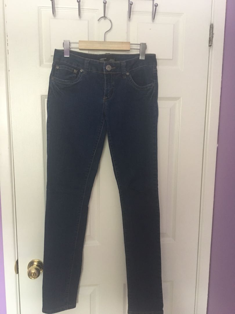 London low rise skinny fit jean