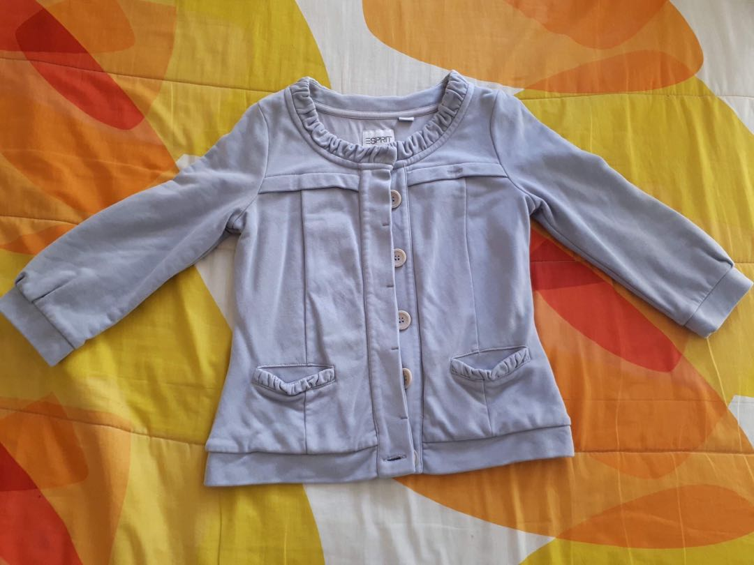 Longsleeve Cotton Jacket Top
