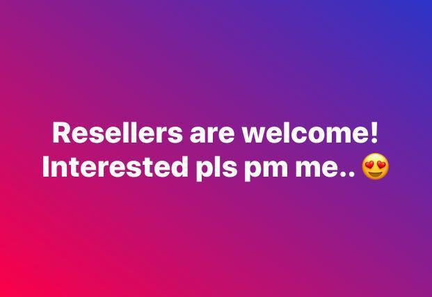 Looking for Resellers!