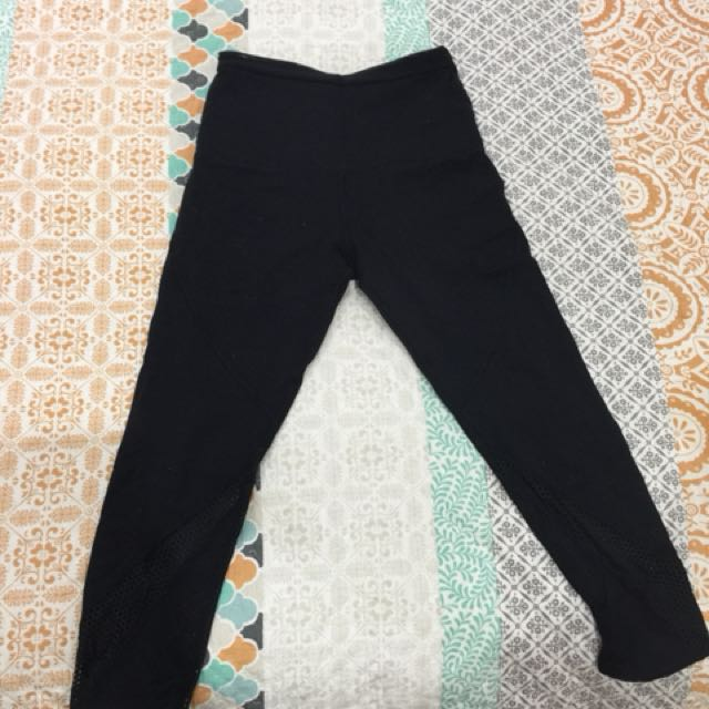 Lorna Jane leggings workout with mesh panels