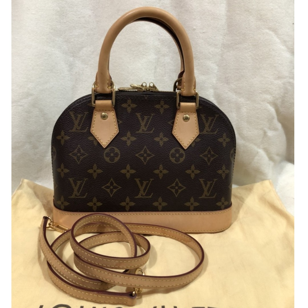 LOUIS VUITTON mono alma BB bag (2013)