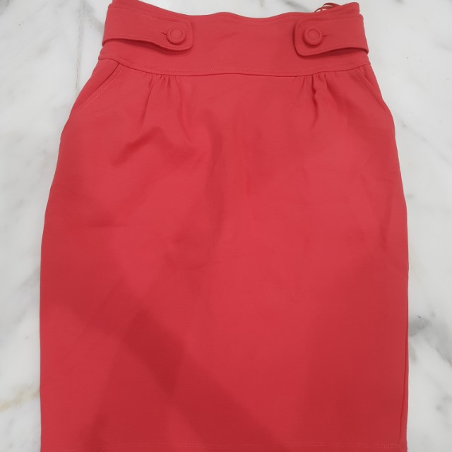 Mango High Waist Skirt