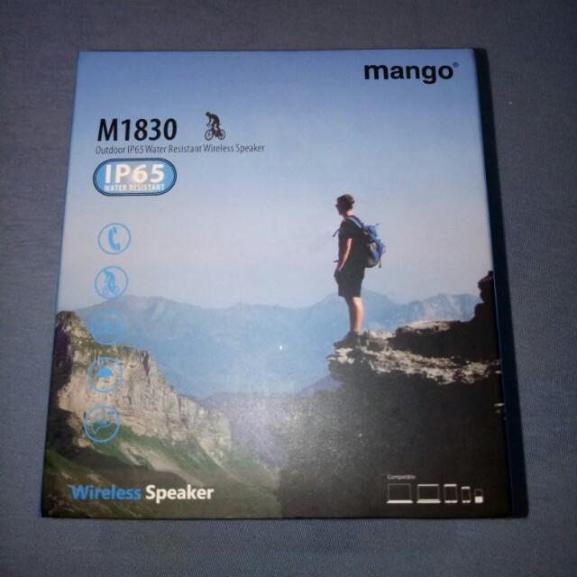 Mango Portable Wireless Bluetooth Speaker IP65 for  Outdoor Activities