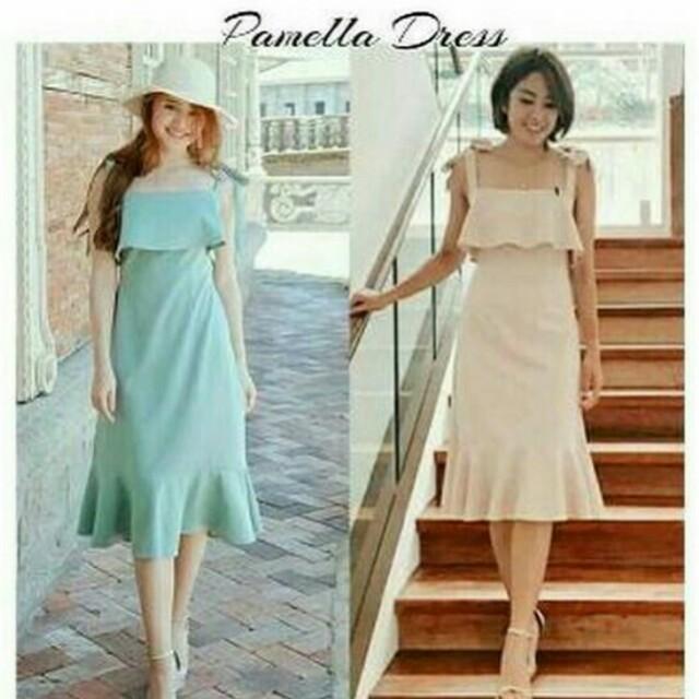 Maroon Pamela. Dress