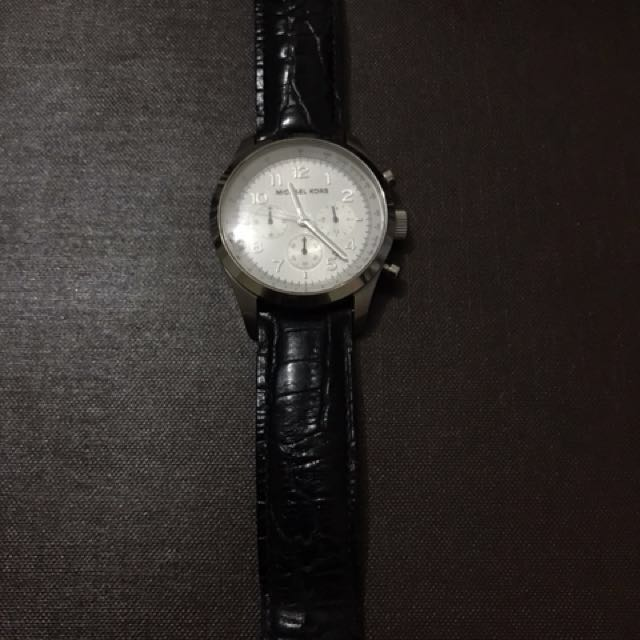 Michael Kors Crocodile Leather Watch