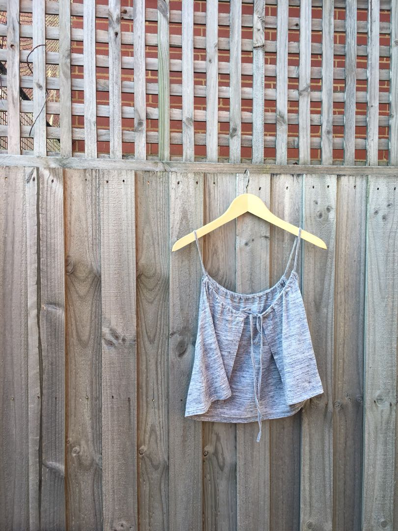 Minkpink Tie-up Crop