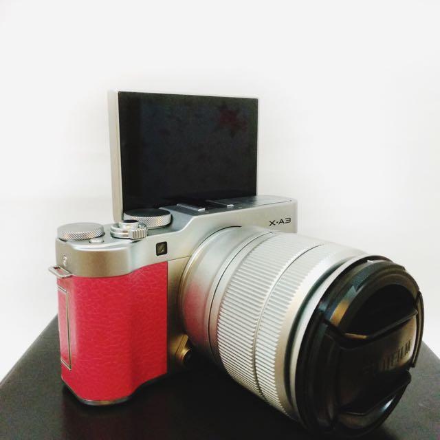 Mirrorless Fuji XA3
