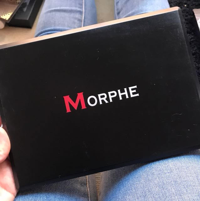 Morphe eyeshadow pallette
