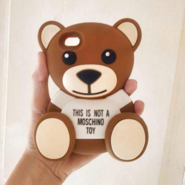 Moschino Bear Case Iphone 4/4s - FREE ONGKIR JABODETABEK