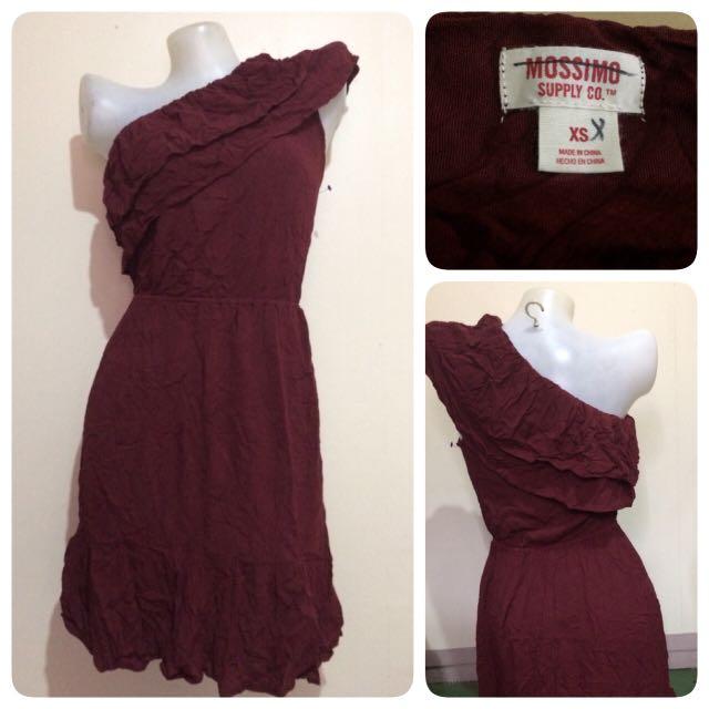 Mossimo One- Shoulder Dress