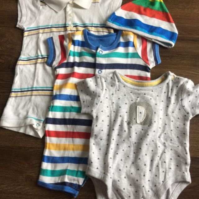 Mothercare, Old Navy Onesies for 0-3 months