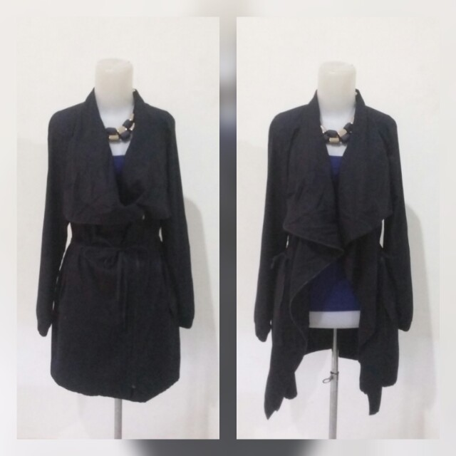 Navy Long Layer Outter