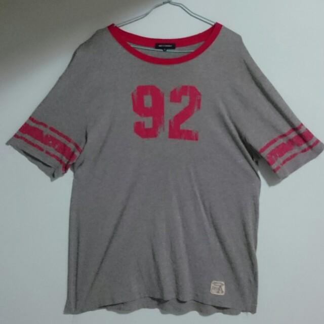 NET 嘻哈風 灰色T-Shirt