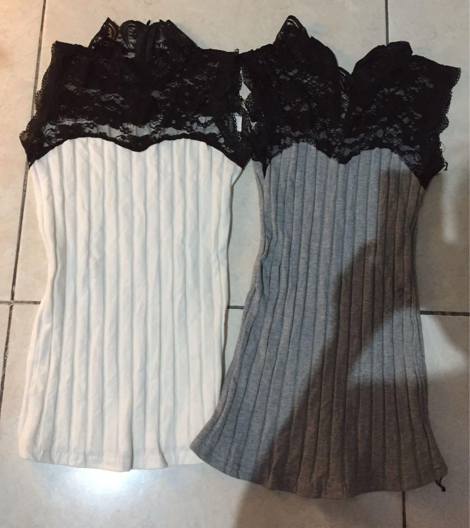 New! Sisa butik! Halter lace neck blouse