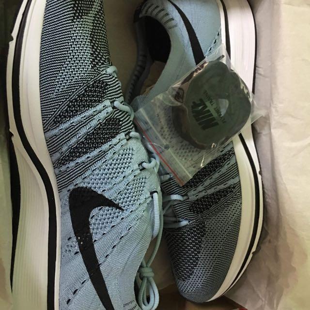 Nike flyknit trainer cirrus blue us12