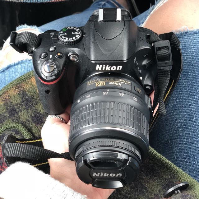 Nikon D5000 DSLR Camera with 18-55 mm lens