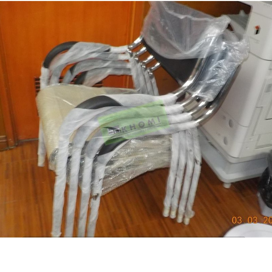 Office Furniture-Office Partition**KHOMI**Stackable Chairs