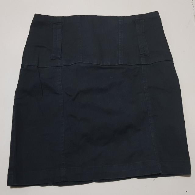 Office skirt (black)