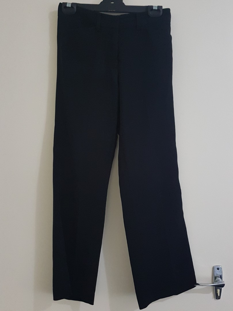 Office Straight Pants
