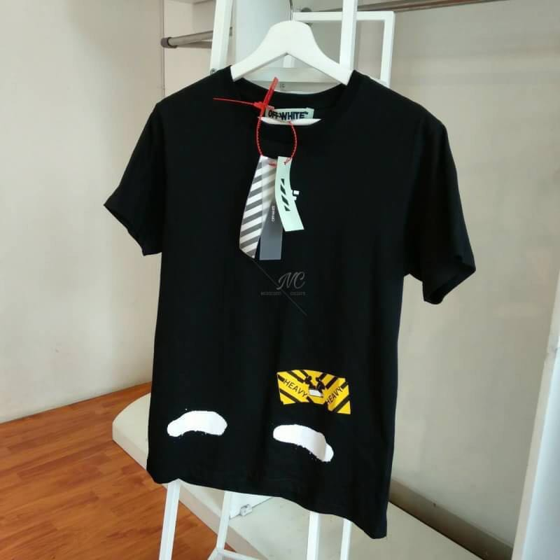 461b7422d11d0f Off-White Stripe Heavy T-Shirt