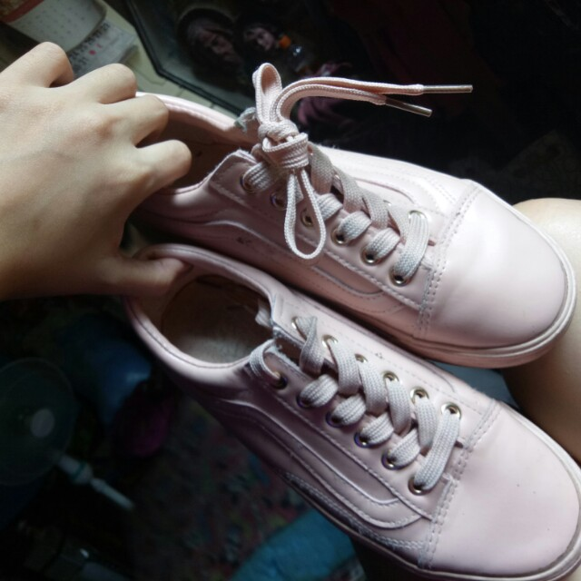Old Skool Patent Leather in Pink