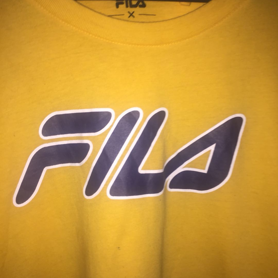 Oversized FILA shirt