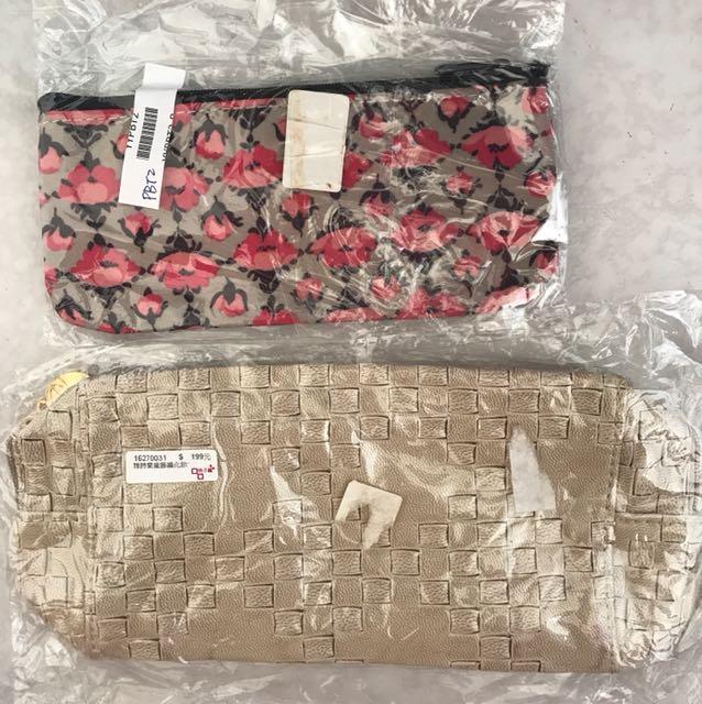 全新化妝包/筆袋(雅詩蘭黛和Paul &Joe)