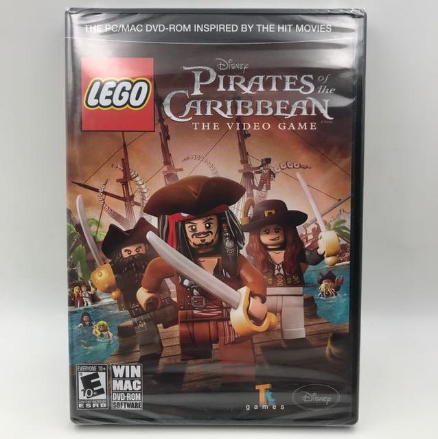 Pc Mac Lego Disney Pirates Of The Caribbean Toys Games Video