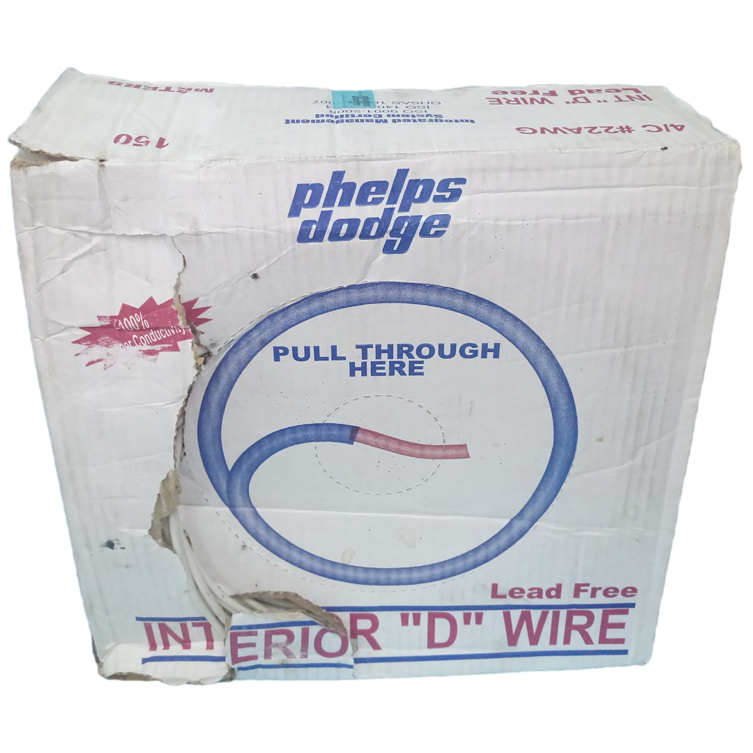 P.D. TELEPHONE wire no. 22/4c x 150mtrs PHELPS DODGE, Home ...