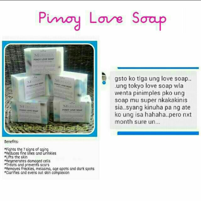 Pinoy Love Soap (Tokyo Love Soap local version)