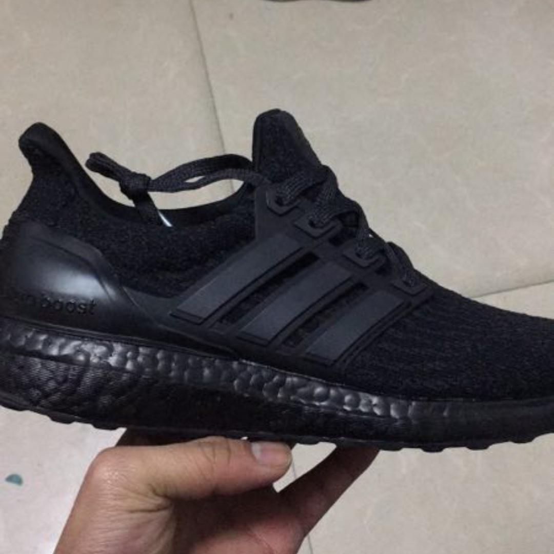 79b829947  PO  Adidas Ultra Boost 3.0 Triple Black