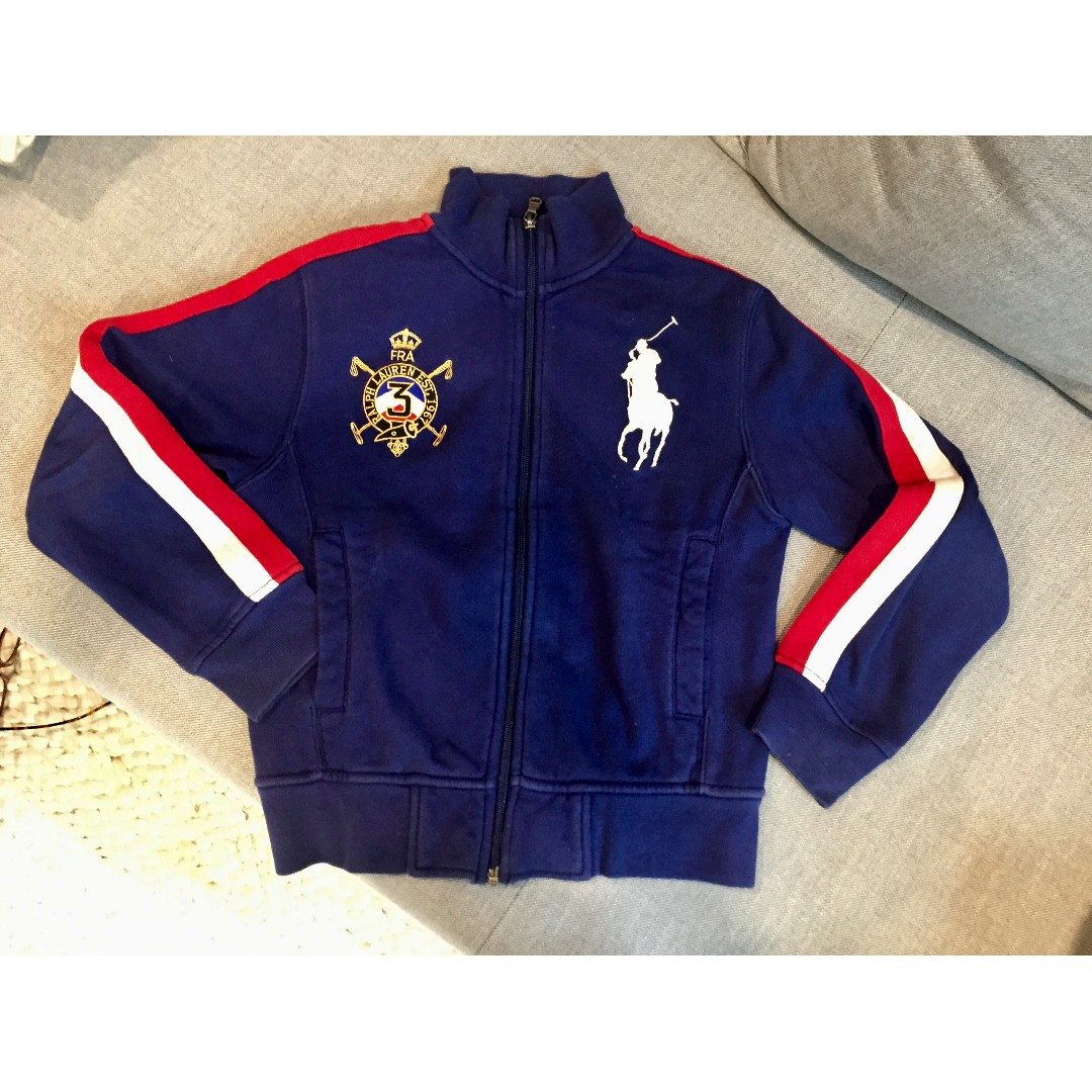 Ralph Zip Full Size Sweater 8yrs Polo Lauren s ZiPkOXu