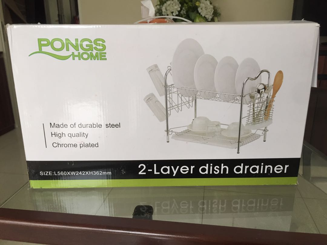 pong home drainer