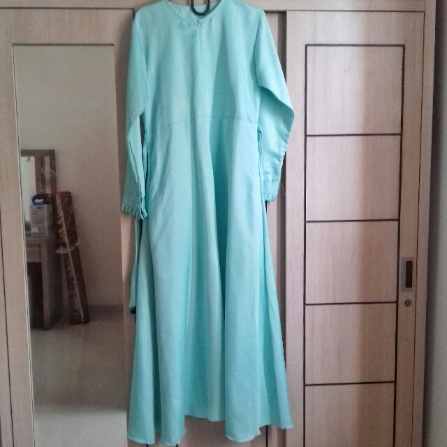 Preloved Gamis Balotelli (Hijau Mint)