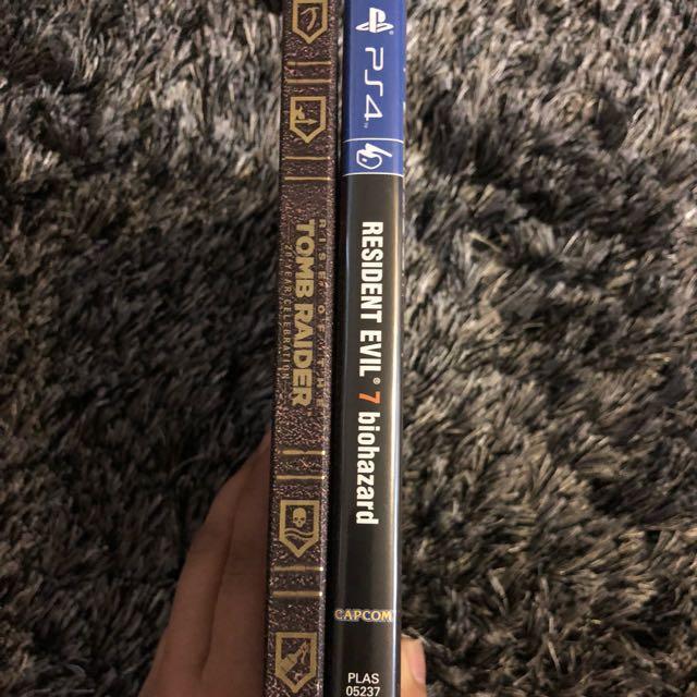 PS4 games - Resident Evil/Tomb Raider