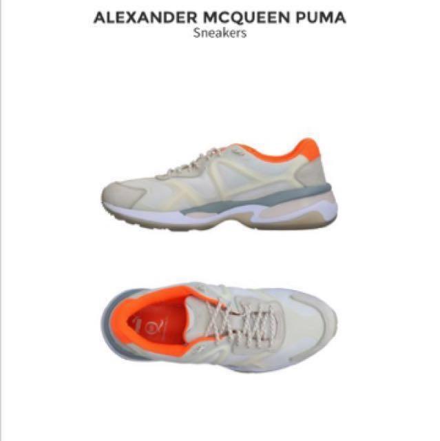 puma x alexander mcqueen 97新 老爸鞋 鞋帶反光