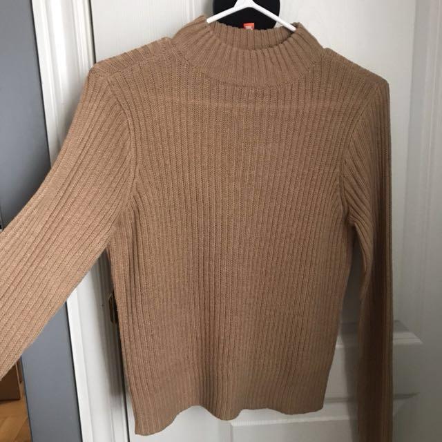 Pumpkin Mockneck Sweater