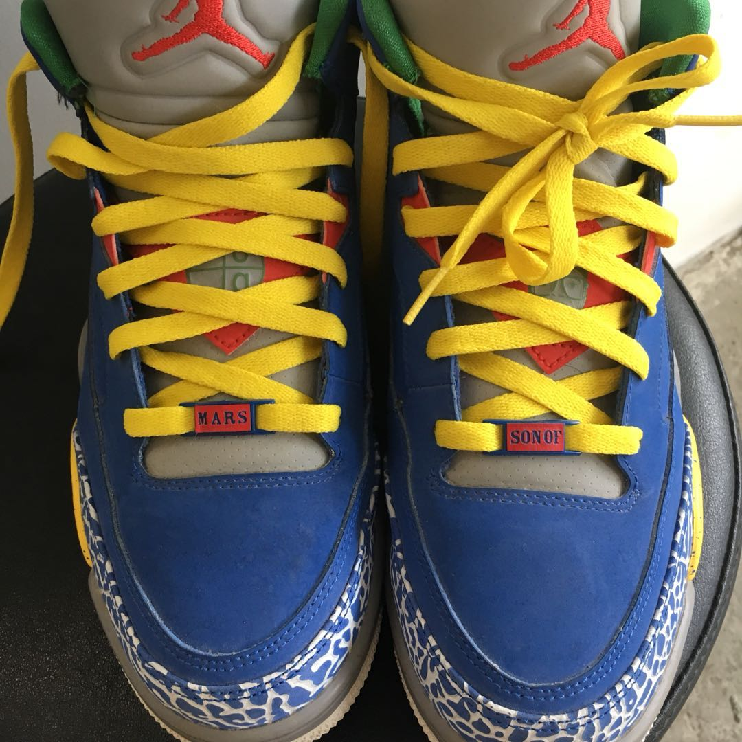 """new product 636e2 c3009 Rare Air Jordan Son of Mars Low """"Do the Right Thing"""", Men s Fashion,  Footwear on Carousell"""
