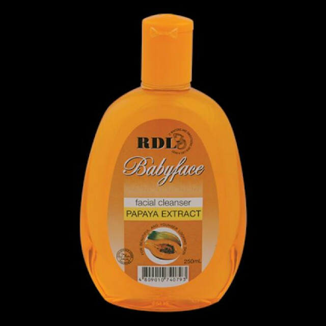 RDL Baby Face Facial Cleanser Papaya Extract 150ml Original BPOM, Olshop Fashion, Olshop Produk Kecantikan on Carousell