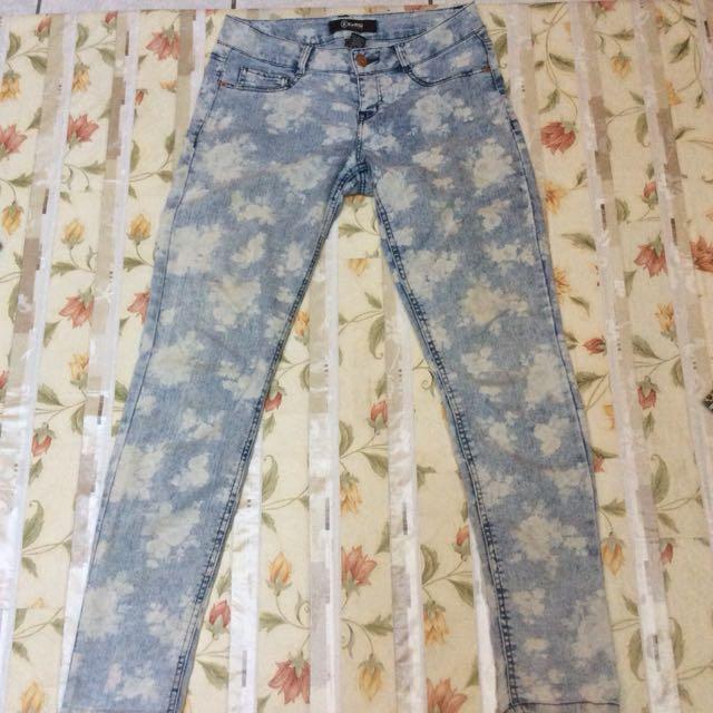 Rewash flowey jeans