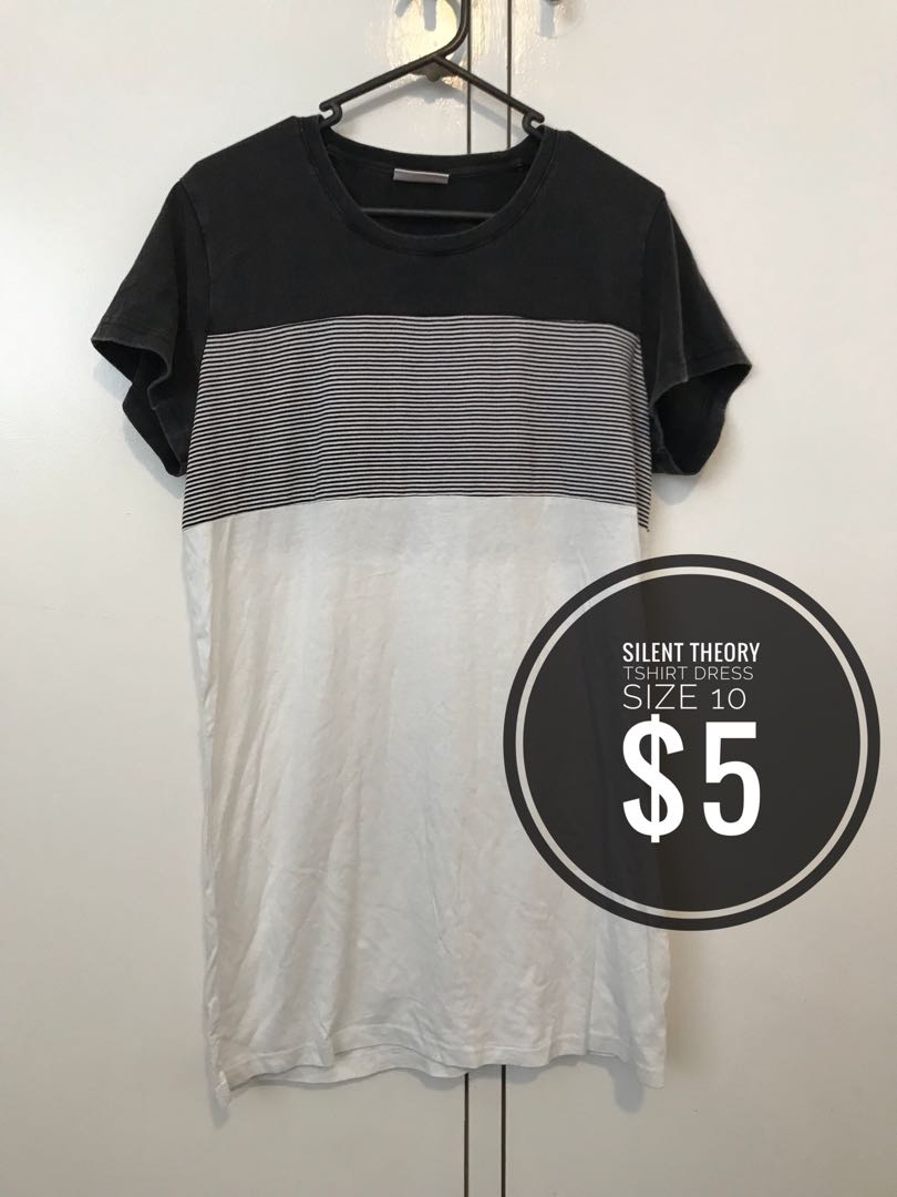 Silent theory tshirt dress