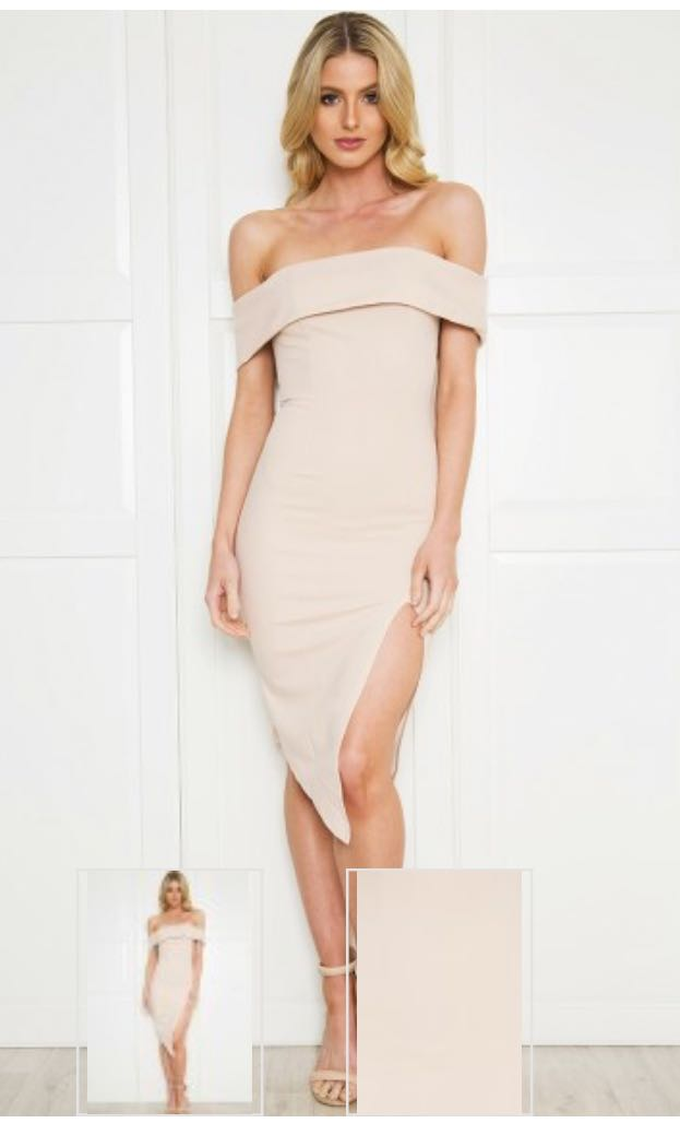 Size 8 Nude Dress BRAND NEW WITH TAGS