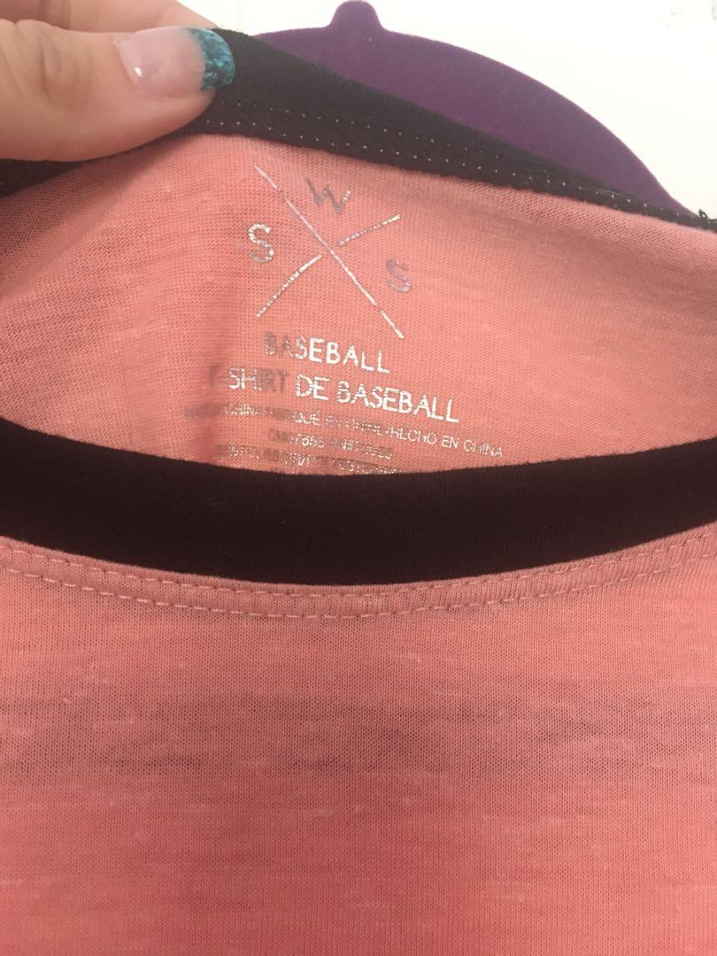 Small stitches baseball shirt