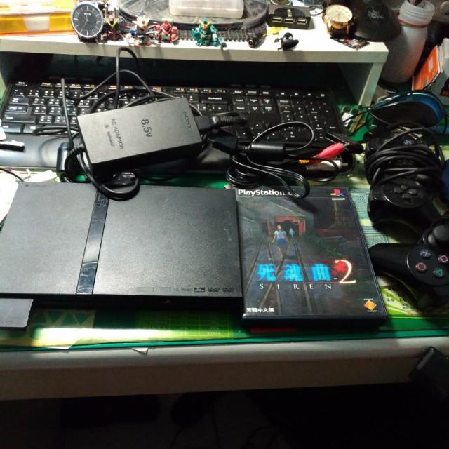 SONY遊戲主機PS2